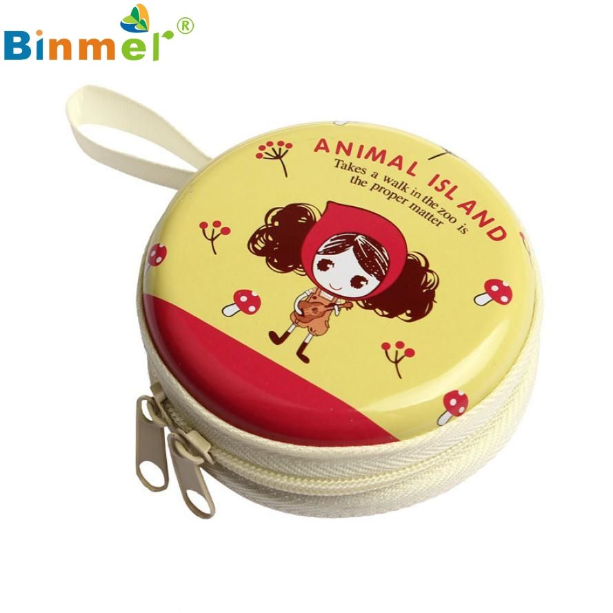 Schönes Geschenk New Gelb Mini Kopfhörer Sd-karte datenkabel Zipper Box Bag Tragetasche Lagerung großhandelspreis Feb17
