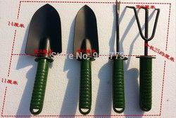 Alat perlengkapan Berkebun tukang kebun/Empat set/bunga sekop/balkon sayuran peralatan