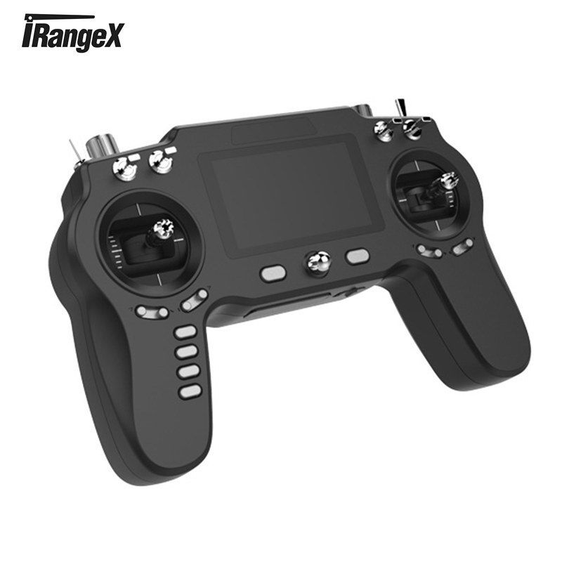iRangeX iRX-IR8M 2.4G 8CH Multi-Protocol Transmitter Remote Control W/ PPM S.BUS Mini Receiver Black White For RC Models