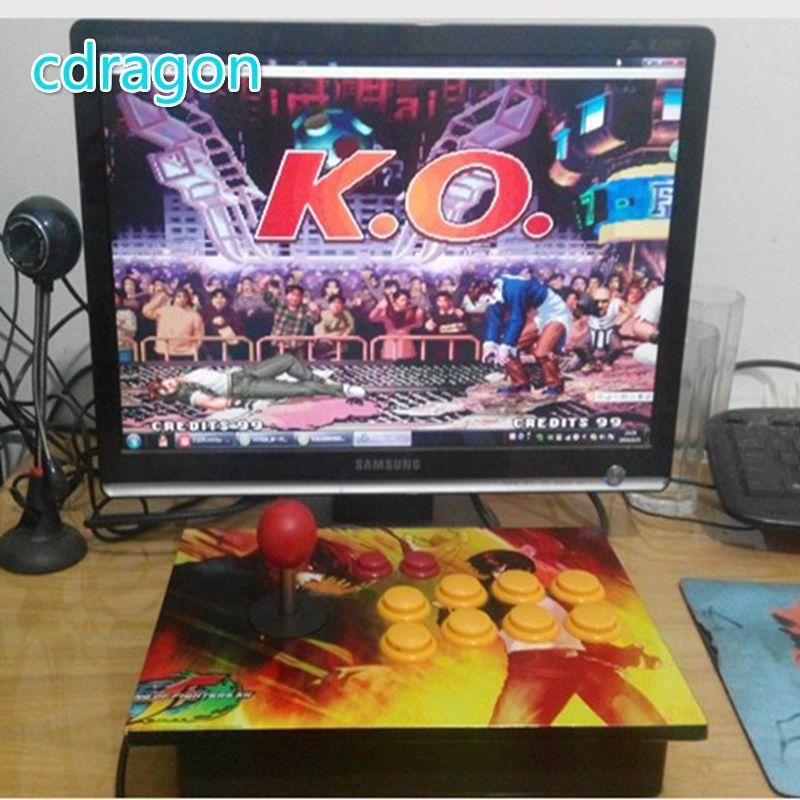 Cdragon No delay arcade joystick rocker USB computer pc arcade game handle game machine accessories kof 97 free shipping