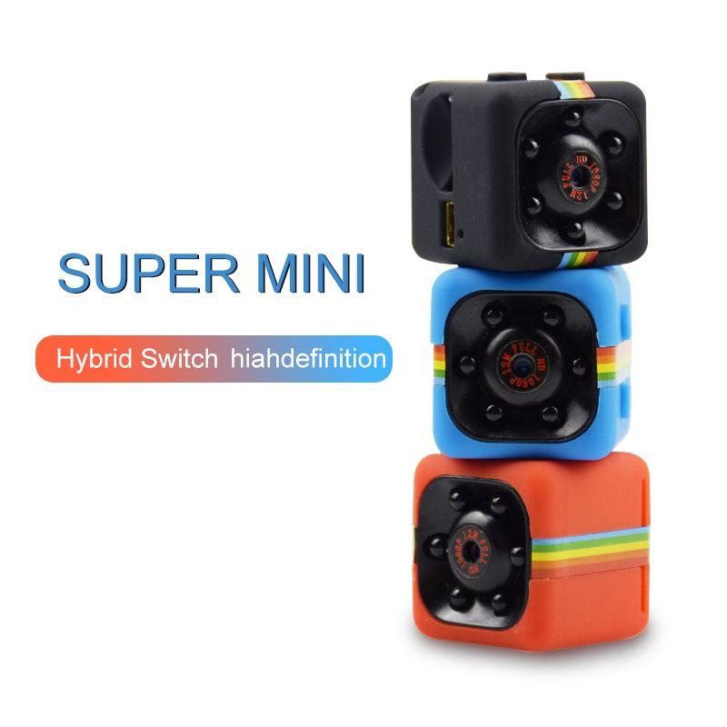 SQ11 Mini Caméra 1080 p de Sécurité À Domicile Infrarouge Nuit Vision Caméra Moniteur Caché Caméra Vidéo