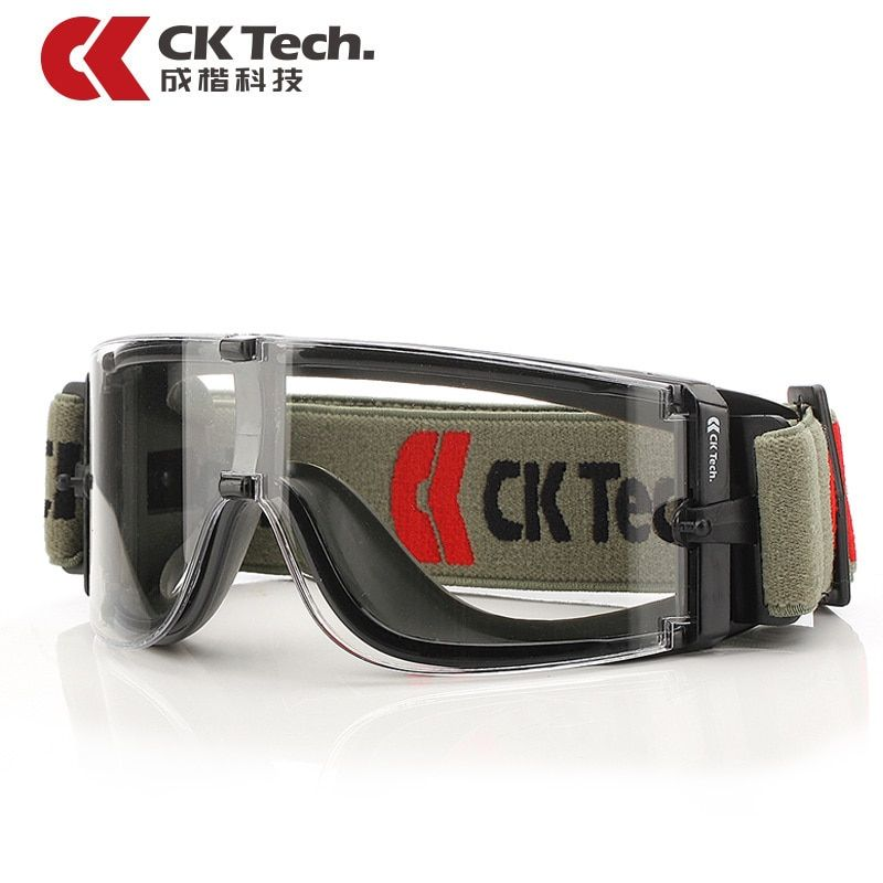 CK Tech Brand Laboratory Outdoor Safety Glasses Bicycle Riding Cycling Eyewear Glass Airsoft Goggles UV Protective Glasses 045