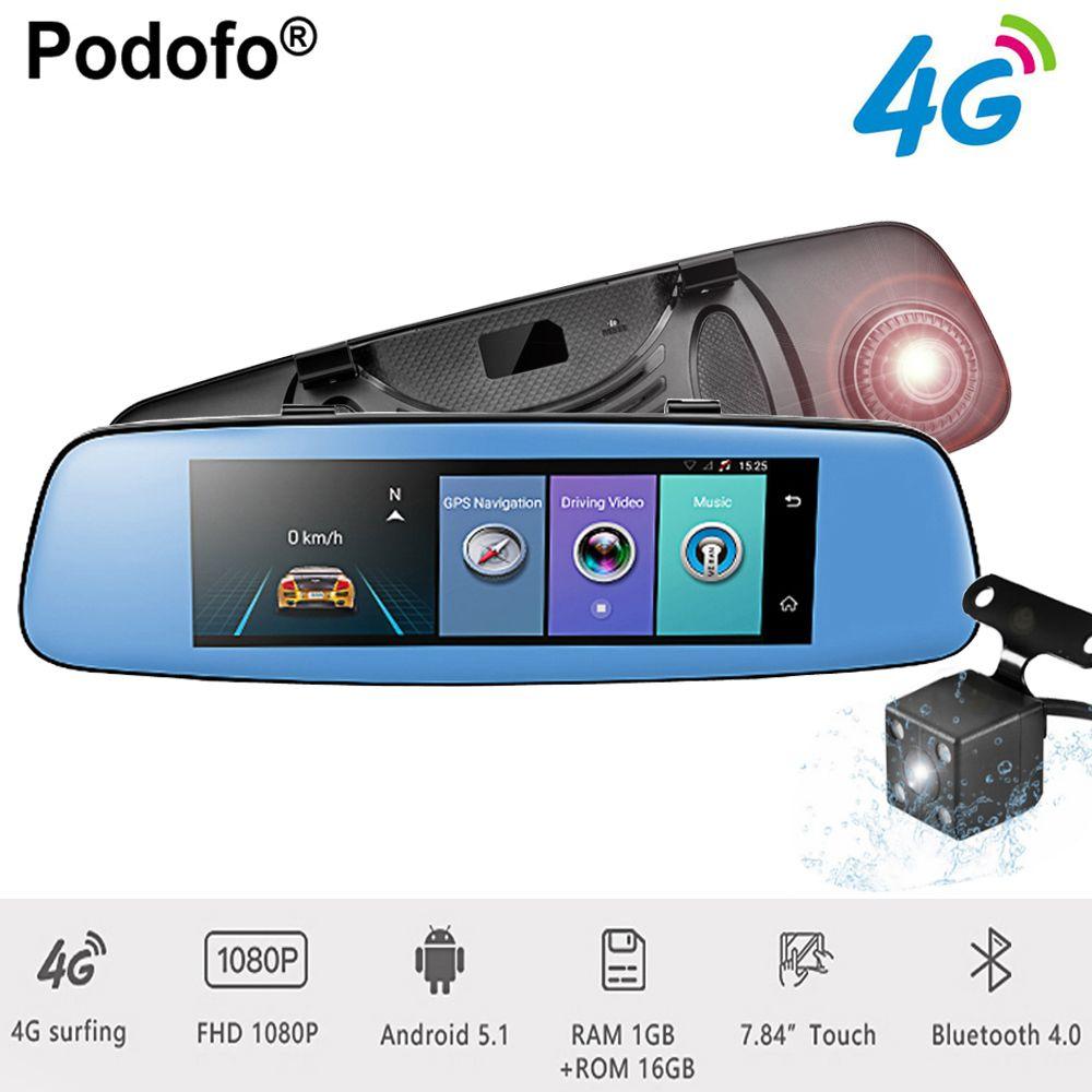 Podofo 4G ADAS Car DVR 7.84