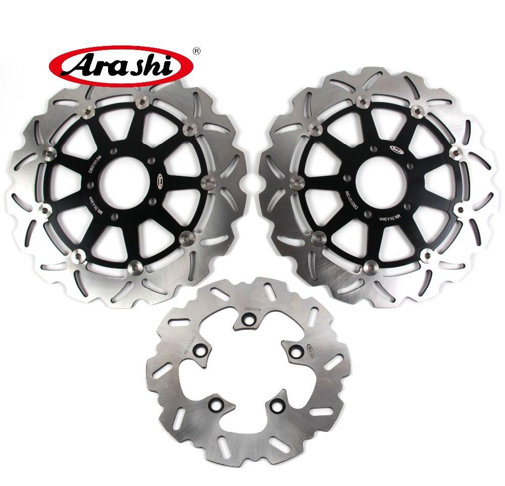 Arashi 1 Set GSX-R 750 1996-2003 CNC Vorne Hinten Bremsscheibe Rotoren Für SUZUKI GSXR750 GSX750R 1996 97 98 1999 2000 2001 2002 2003
