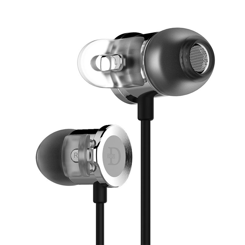 DUNU DN-2000J Dual Balanced Armature Single Dynamic Hybrid HiFi in-Ear Earphone DN2000J DN 2000J