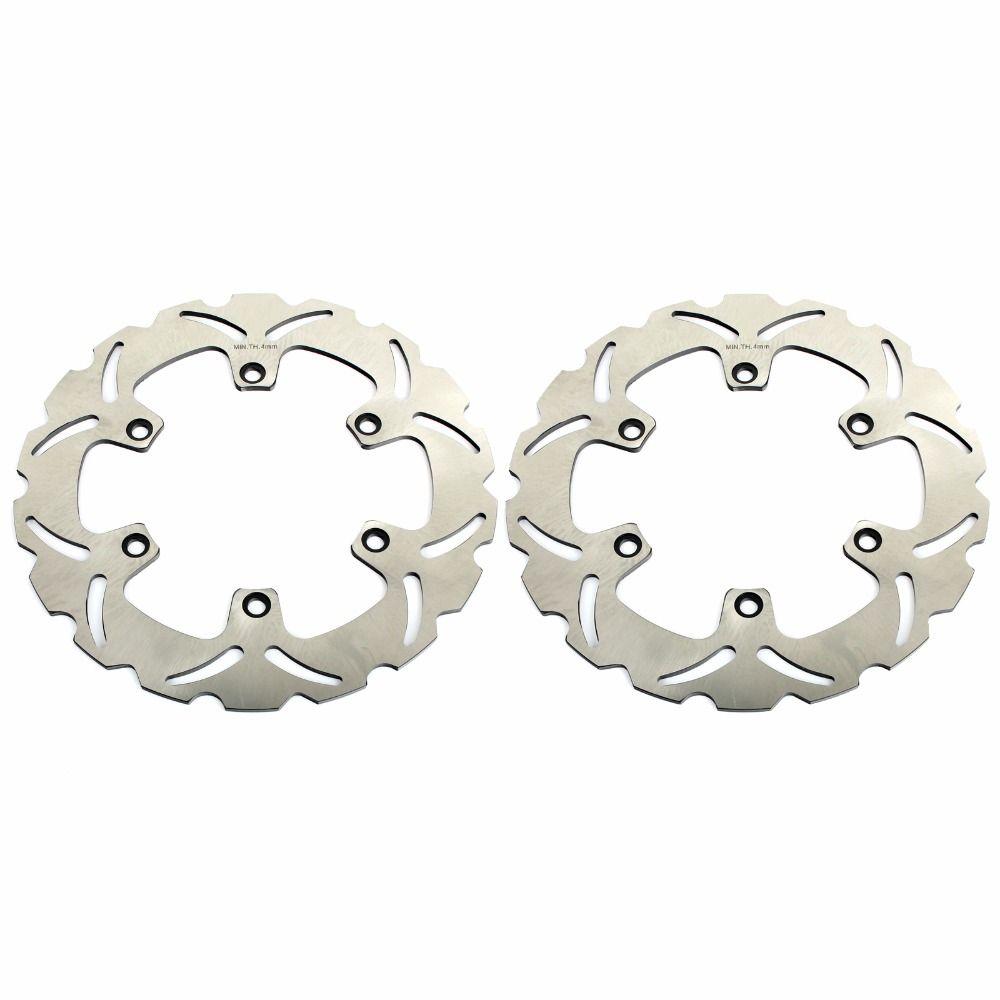 BIKINGBOY Front Brake Disks Discs Rotors For HONDA CBF N S 600 03-07 NTV DEAUVILLE 650 98-05 680 06-12 CBR F 1000 89 90 91 92