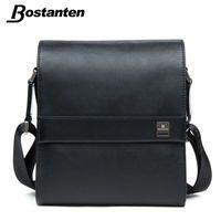 Bostanten человек вертикальный пояса из натуральной кожи сумка для мужчин мессенджер бизнес мужчин's портфели дизайнер сумки Высокое качество