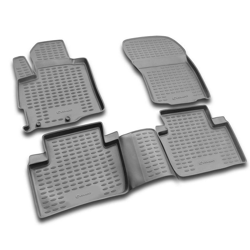 Boden matte für MITSUBISHI Outlander XL 2005-2010-2010-2012 sicher elastische flexible pad (PU)