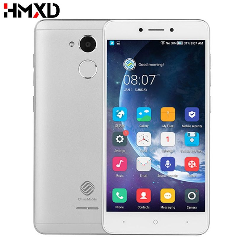 China Mobile A3S M653 Snapdragon 425 1.4GHz Quad Core 5.2inch Android 7.0 2G RAM 16GB ROM 4G LTE Fingerprint Mobile Phone