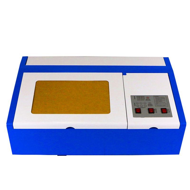Laser engraving area 300 * 200mm 110 / 220v laser cutting machine 50W laser engraving machine