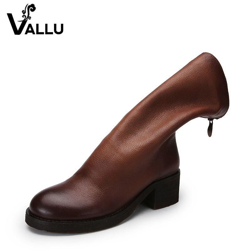 2018 Для женщин колено Сапоги и ботинки для девочек Обувь Пояса из натуральной кожи супер мягкие женские высокие ботинки на не сужающемся кни...