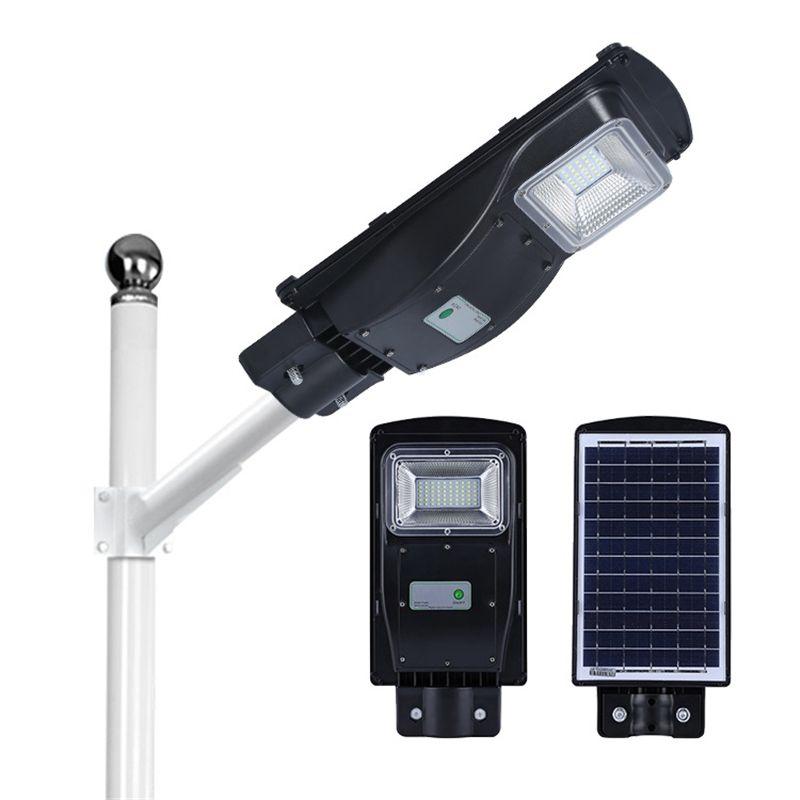 Polykristalline Solar Panel Licht Control Radar Sensor Lampe outdoor-Lithium-eisen phosphat Batterie outdoor wall Street Beleuchtung