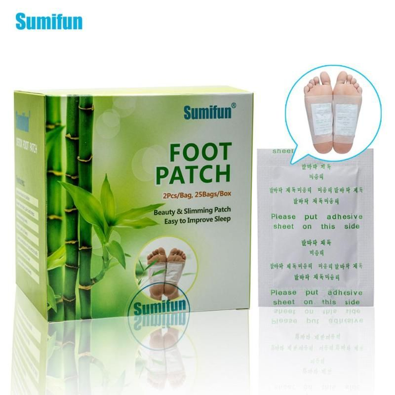 25 Pair Herbal Detox Foot Pads Patches Feet Care Medical Plaster Foot Remover Relieving Pain Foot Care Tool Y3
