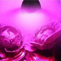 Полный спектр, лампа для растений, E27 светодиодный выращивания растений, лампа для выращивания растений с питанием от источника с пультом ди...