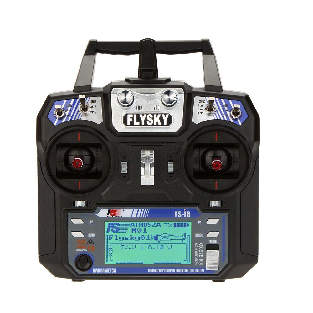 Flysky FS-i6 FS I6 2.4G 6ch RC Transmitter Controll FS-iA6 / FS-iA6B Receiver for RC Racing Quadcopter Glider Airplane