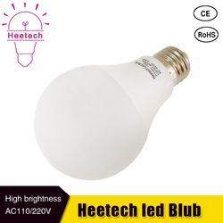 Lâmpada Led 230 V 220 V 110 V E27 conduziu a lâmpada SMD 2835 3 B22 W 5 W 7 W 9 W 12 W 15 W LEVOU lâmpada Para Casa