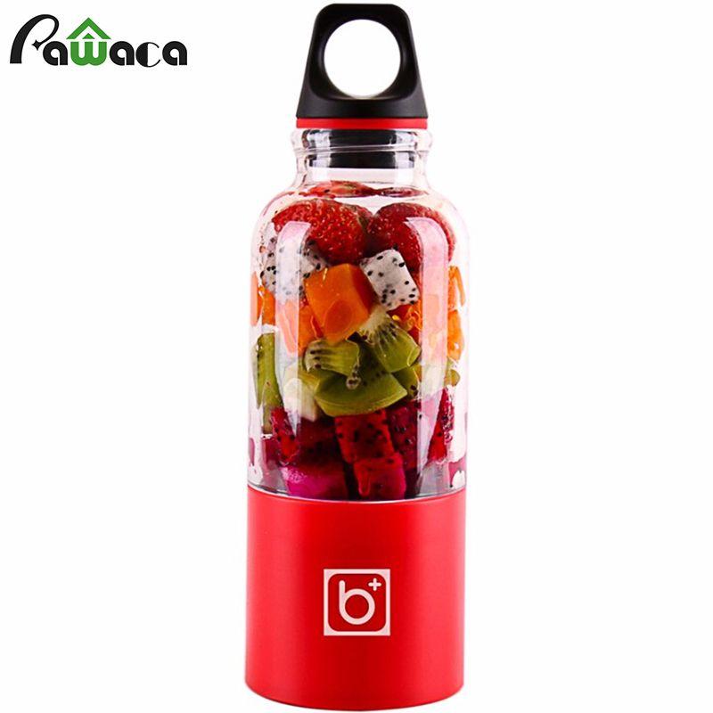 Portable Juicer Cup USB Rechargeable Electric Automatic Bingo Benko Vegetables Fruit Juice Blender Mixer Maker Bottle Cup 500ml