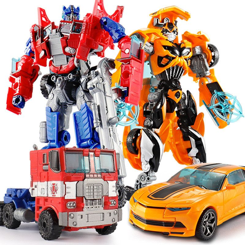 Top Sale 18.5cm New Arrival Big Classic Transformation Plastic Robot Cars Action Toy Figures Kids Education Toy Gifts Wholesale