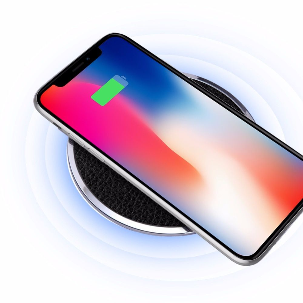 Nillkin fast charger pad for samsung S8/S8 Plus/Note 8 QI Fast Wireless <font><b>Charging</b></font> Pad for iPhone X/8/8 Plus wireless charger pad