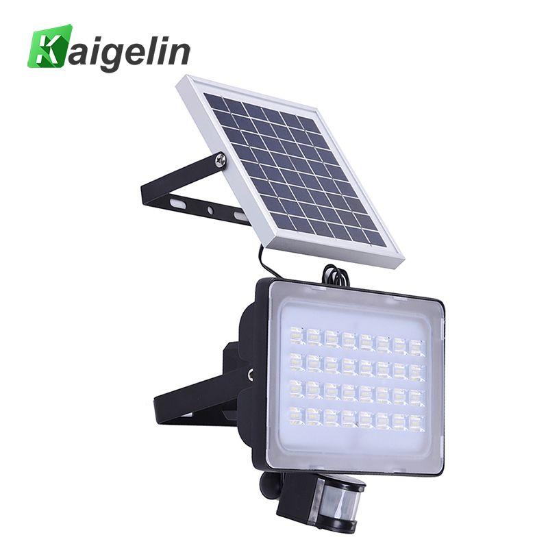2 Stücke 128 LED 50 Watt PIR Solar Motion Sensor FÜHRTE Flutlicht licht 6000LM Solar Lampe IP65 Solarbetriebene Flutlicht Für Außenbeleuchtung