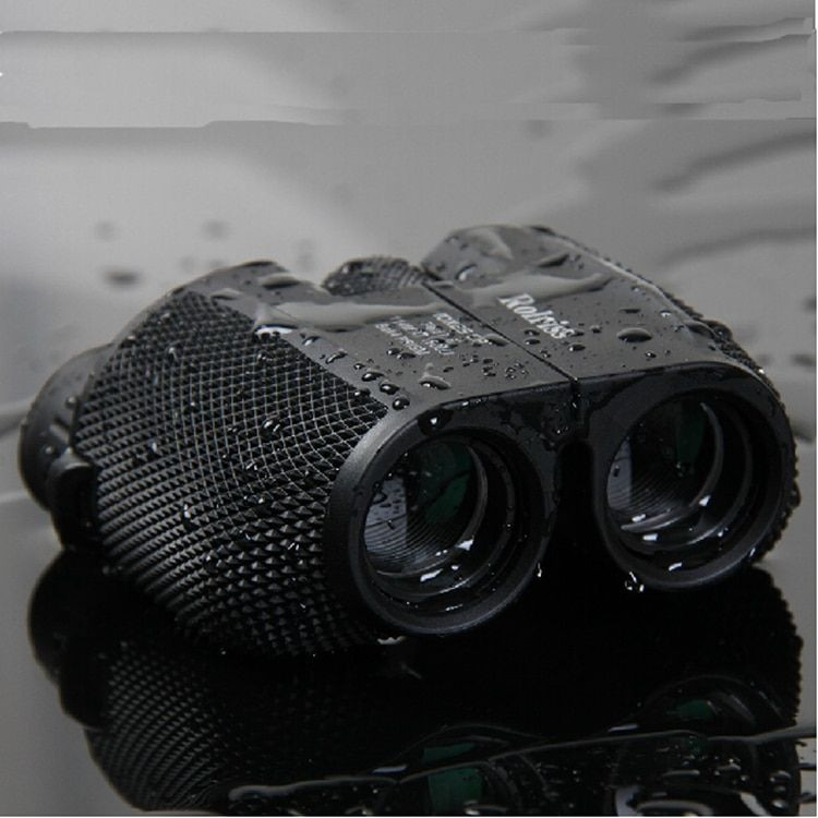 Free shipping 10X25 HD All-optical green film waterproof binoculars telescope with Bak4 Prism for travel binoculars drop <font><b>selling</b></font>