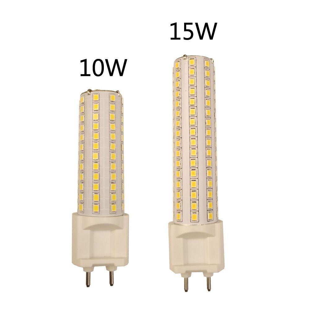 G12 LED lumière de maïs 10W 1000LM 15W 1500LM SMD2835 lampe de ampoule LED Ultra lumineuse lampe de AC85-265V haute luminosité