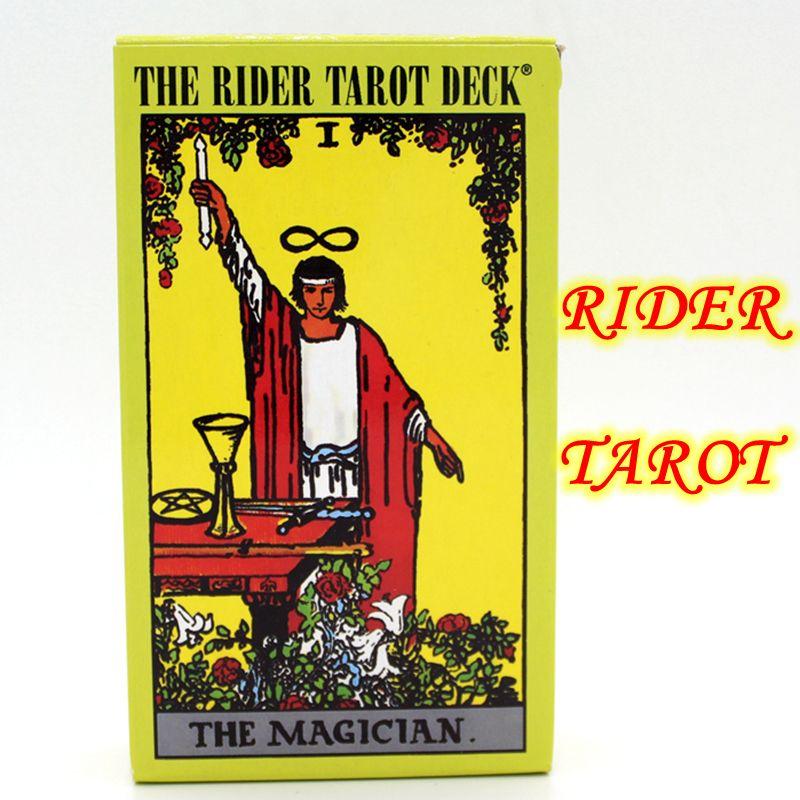 Inglés completo El Piloto Centenario Edición Juego de Mesa 78 UNIDS Naipe Baraja de Tarot Waite Tarot Tarot rider-waite Juego de mesa