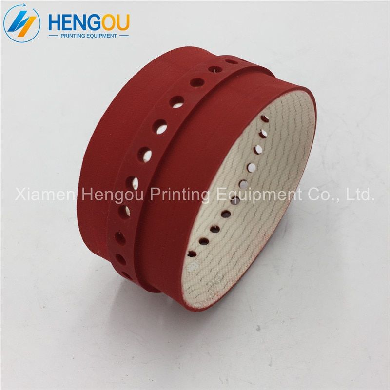 7pcs M2.015.357 red belt and 2 bags SM74 machine super blue net and 2 sets 42.006.029 worm gear and 1pc M5.144.1121 motor