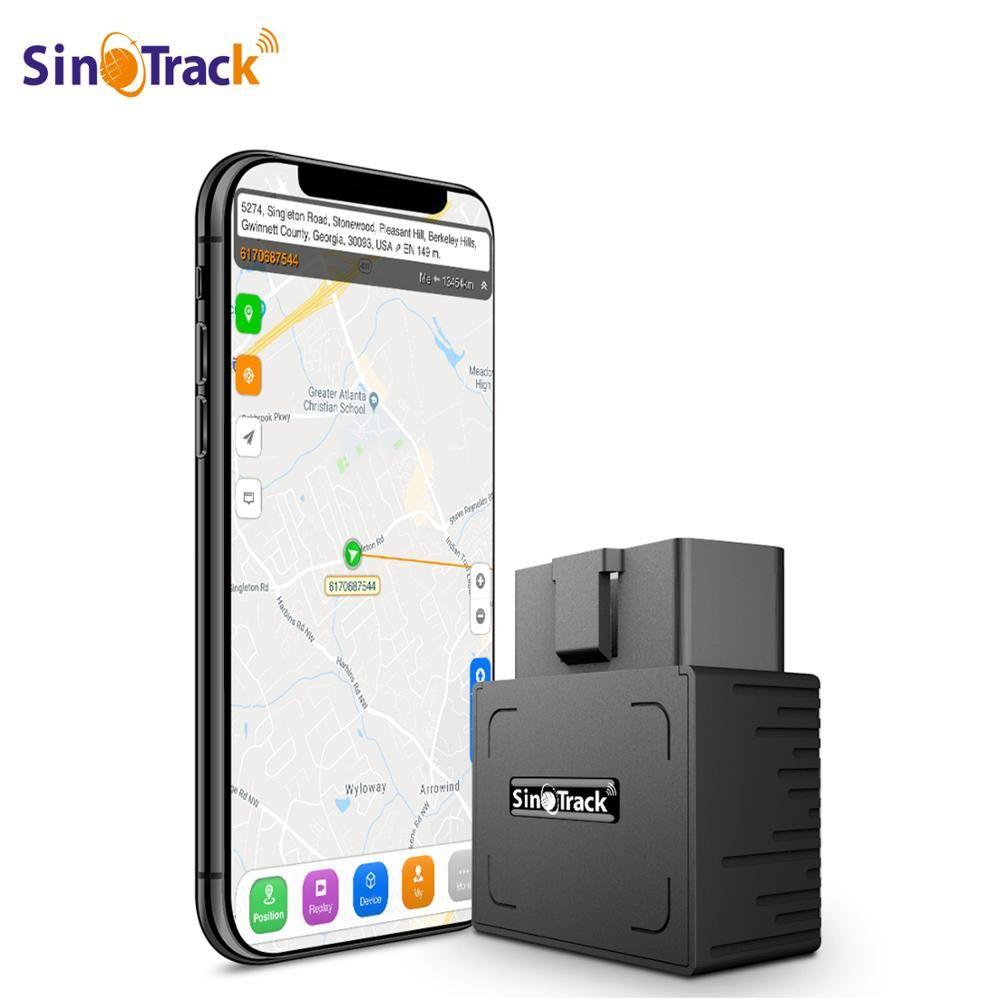 OBD II GPS Tracker 16PIN OBD Plug Play voiture GSM OBD2 dispositif de suivi GPS localisateur OBDII avec logiciel en ligne IOS android APP