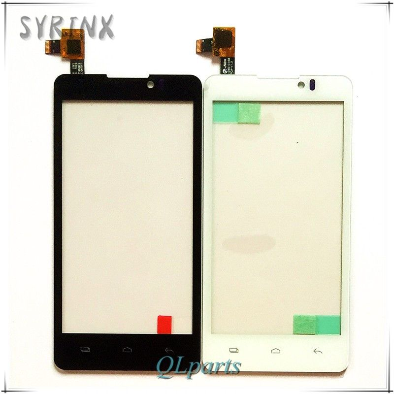 Syrinx mobile phone touch panel touchscreen For Prestigio MultiPhone 4505 DUO PAP4505 touch screen digitizer front glass sensor