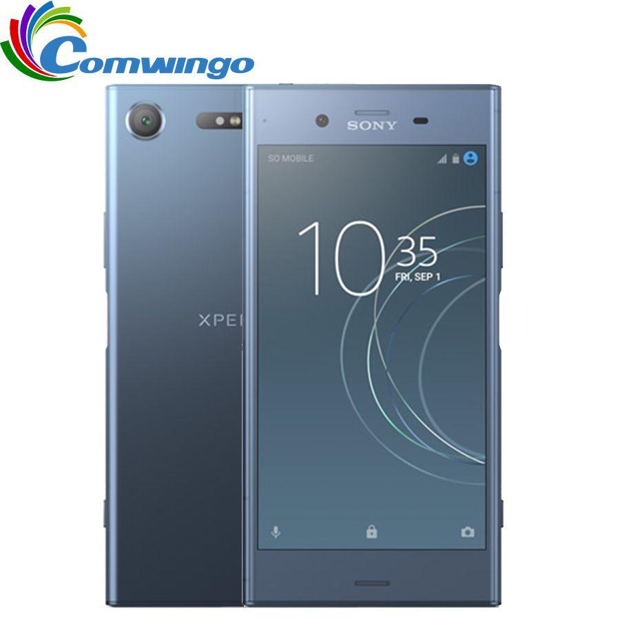 Original Sony Xperia XZ1 G8342 64G ROM 4G RAM 19MP Octa Core NFC 2700mAh Dual Sim Android 7.1 Quick Charge 3.0 Phone
