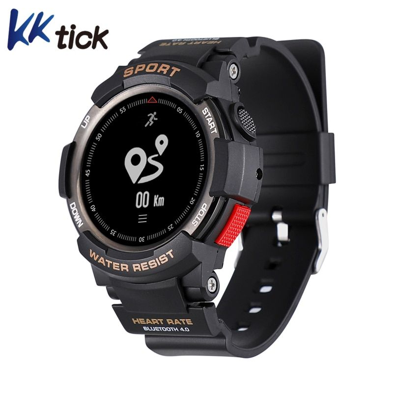 KKTICK F6 Smart watch Waterproof Bluetooth 4.0 Sleep Monitor Remote Camera Watch Men Outdoor Sports Smart watch for iOS Android