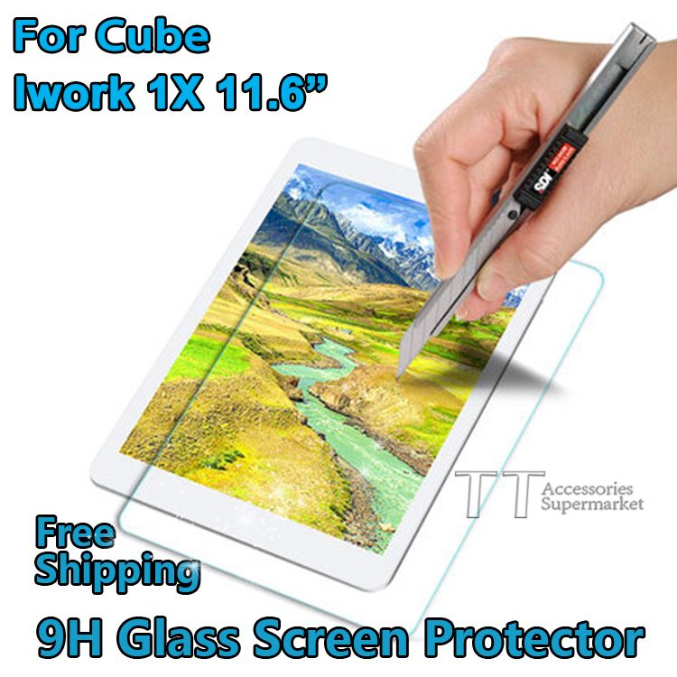 Free shipping Tempered Glass for ALLDOCUBE/Cube Iwork 1X 11.6