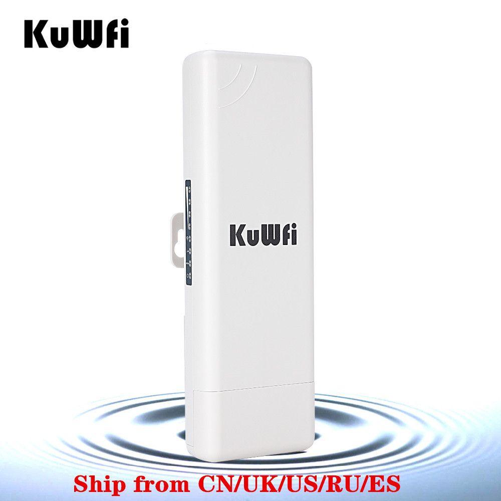 Routeur extérieur sans fil de 2 KM CPE WIFI routeur 150 Mbps Point d'accès AP routeur 1000 mW WIFI pont répéteur WIFI Support d'extension WIFI WDS