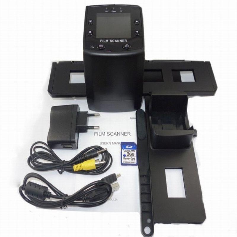 Portable super 8 Scanner 5MP 35mm Negative Film Slide Viewer Scanner USB Slide Film Scanner Digital Film Converter