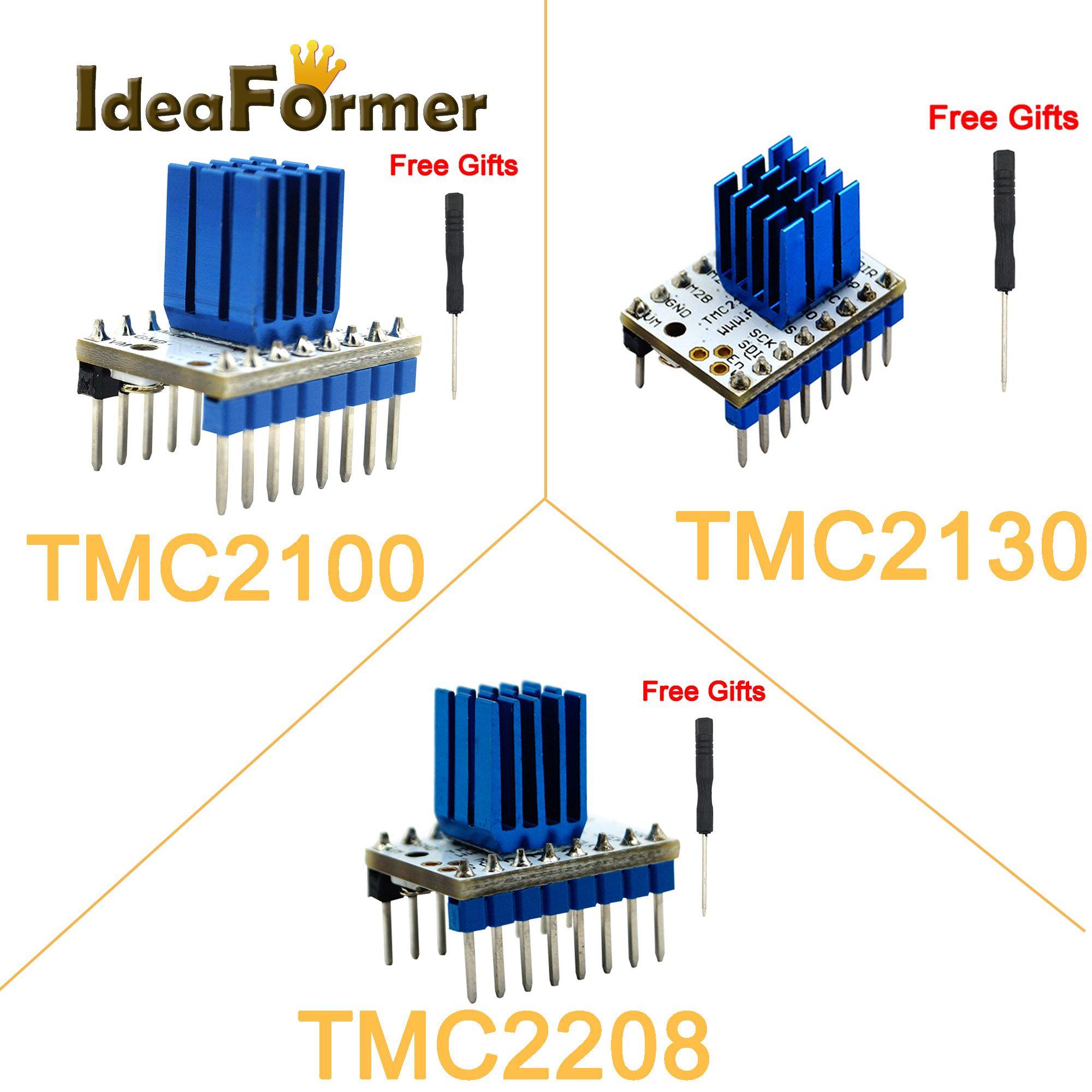 TMC2130 TMC2208 V1.0 TMC2100 V1.3 Stepper Motor StepStick Mute Driver silent excellent stability and protection for 3D Printer