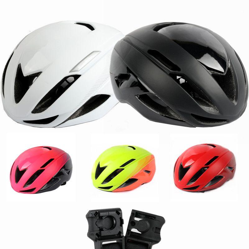 2018 ausweichen II Bike helm red road radfahren helm magnetverschluss spezielle fahrrad zubehör rot rudis fuchs radar vorherrschen tld E