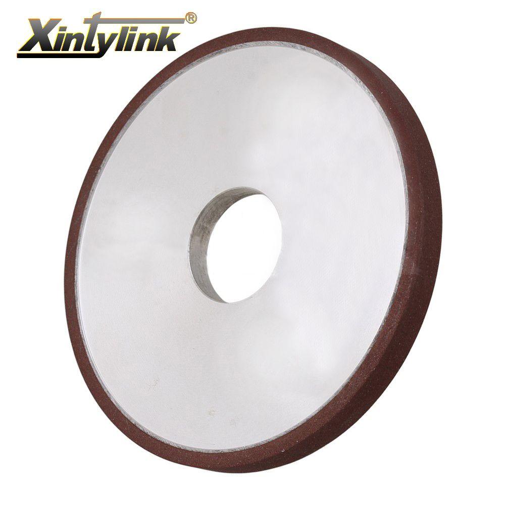 Xintylink durable diamant enduit parallèle meule 180 grit cutter grinder pour carbure métallique 200mm 180mm 150mm 125mm 100mm