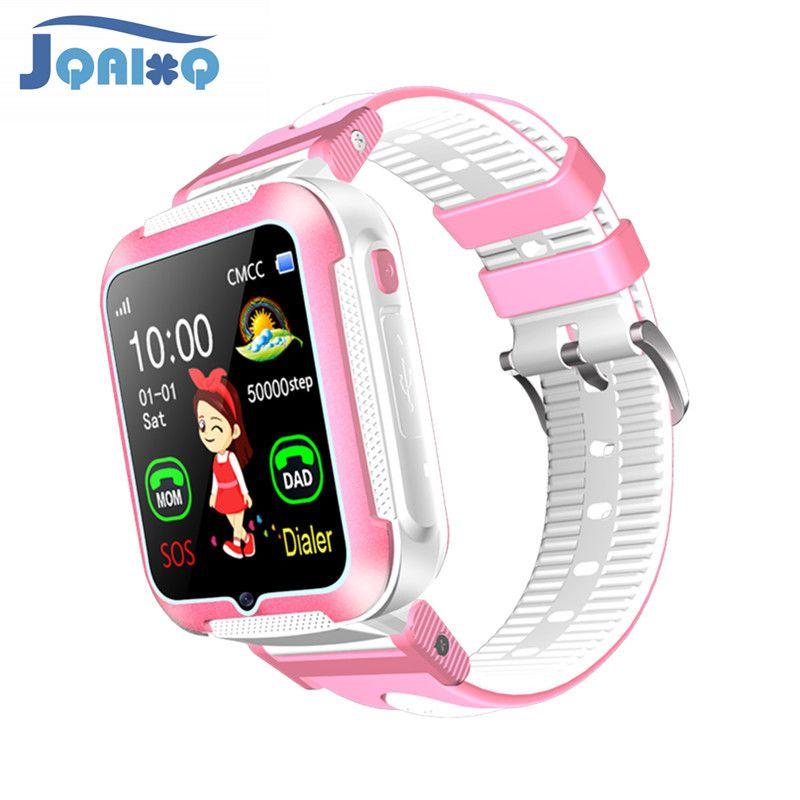 Neueste Baby GPS Smart Uhr Mit Kamera Sicherheit Anti Verloren SOS Für Android IOS Super Lange Standby-IP67 Wasserdichte baby armband