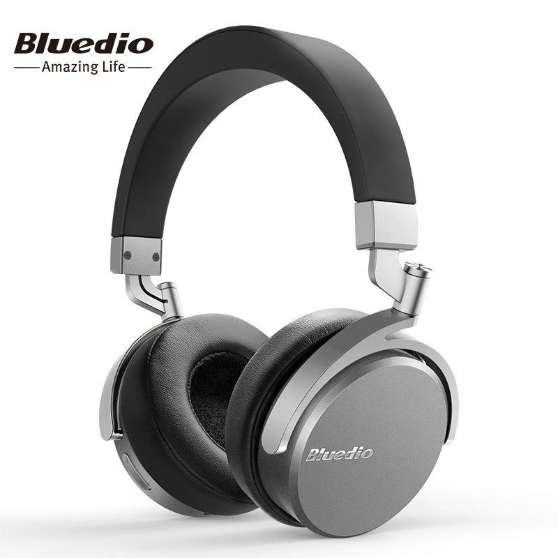 Bluedio Vinyl Premium Wireless Bluetooth headphones Dual 180 degree rotation design on the ear <font><b>headset</b></font>