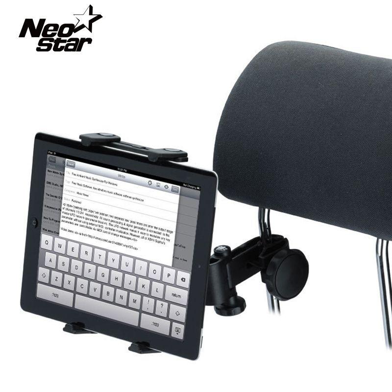 Универсальный Автомобильный кронштейн для iPad Air Mini 360 вращающееся сиденье назад подголовник Подушка держатель подставка держатель для samsung ...