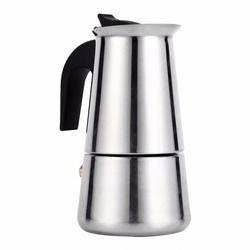 Moka Espresso Coffee Maker Pot Stovetop Tool Filter Percolator Latte  Piano Cottura Filtro Coffee Machine Coffee Cafetiere Maker