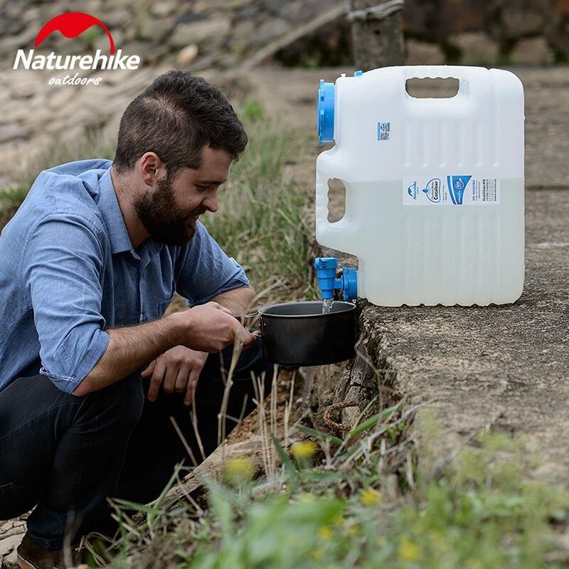 Naturehike Outdoor Camping Klettern Wandern sport wasser lagerung eimer blase trinkwasser behälter eimer lebensmittelqualität PE