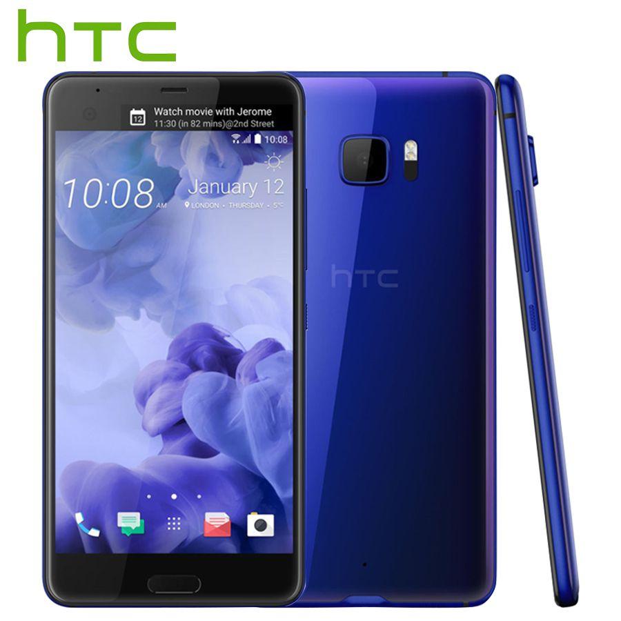 Vente chaude HTC U Ultra LTE Mobile Téléphone 4 gb 64 gb Snapdragon821 Quad Core 5.7 pouce 2560x1440px Android 8 16MP DualView Téléphone Intelligent
