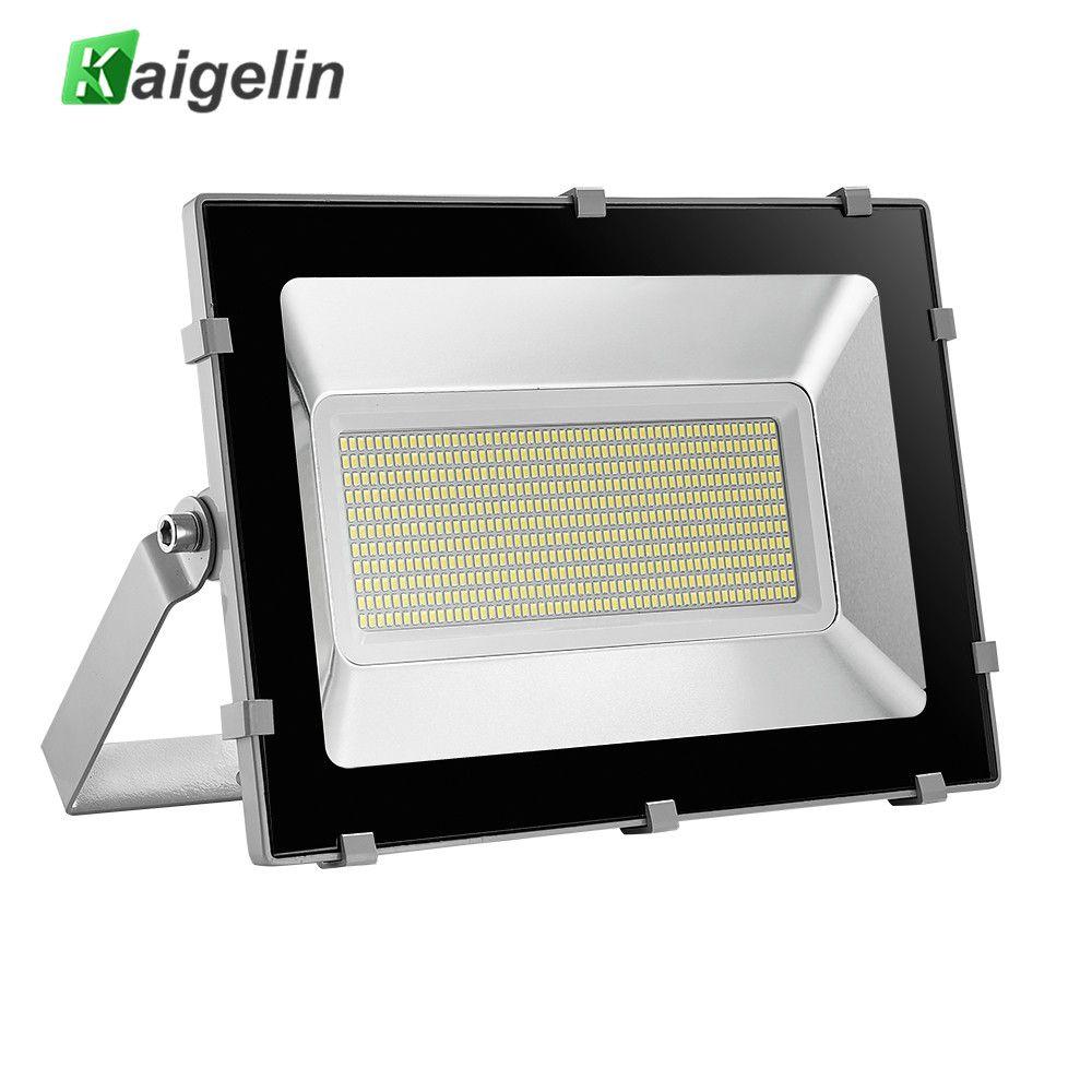 2PCS Kaigelin 5th NEW Design 300W LED Flood Light Waterproof LEDs Floodlight Outdoor LED Spotlight Garden Landscape Projector
