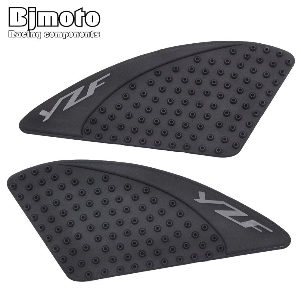 BJMOTO For Yamaha R15 2015-2016 Motorcycle Tank Pad Protector Sticker Decal Gas Knee Grip Tank Traction Pad Side