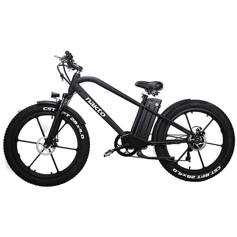 26 zoll Fett e-bike 48V500W elektrische mountainbike hybrid pas off-road schnee bike 4,0 fett reifen EMTB smart lcd ebike