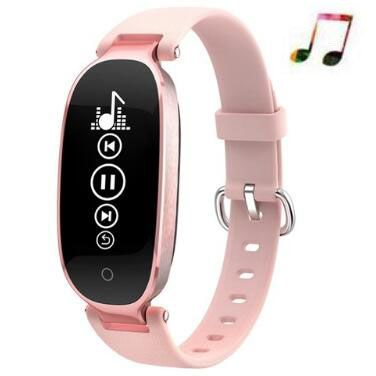 Gift Women Watch S3 Smart Bracelet Heart Rate Smart Wristband Mp3 reloj Fitness Tracker Smart band Pk honor band 4 Pk mi band 3