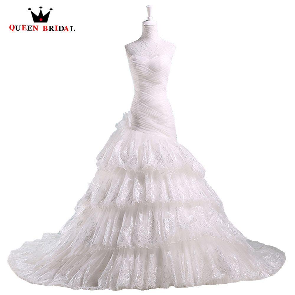 REINA de NOVIA Una Línea de Cariño Volante de Tul Romántico Elegante de La Vendimia Vestidos de Novia robe de mariage vestido de Novia ME07