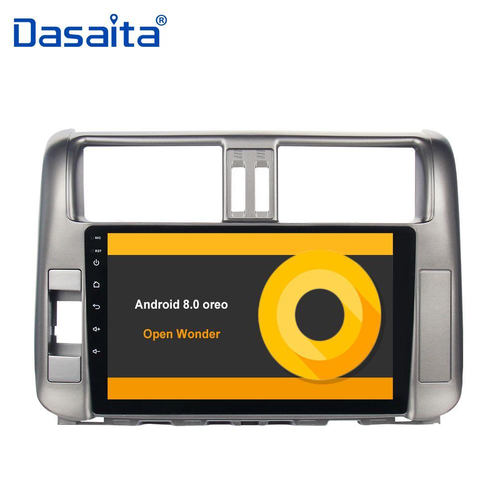 Android 8.0 car autoradio for toyota prado 150 2010 2011 2012 2013 with 9